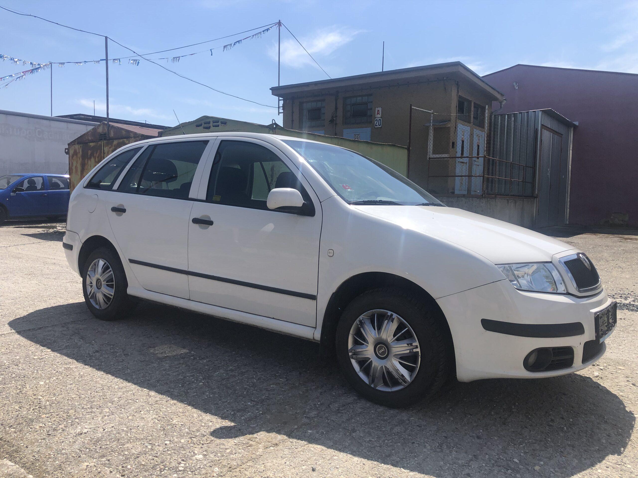 Škoda Fabia 1.4 Tdi Klima el.okna 55kW