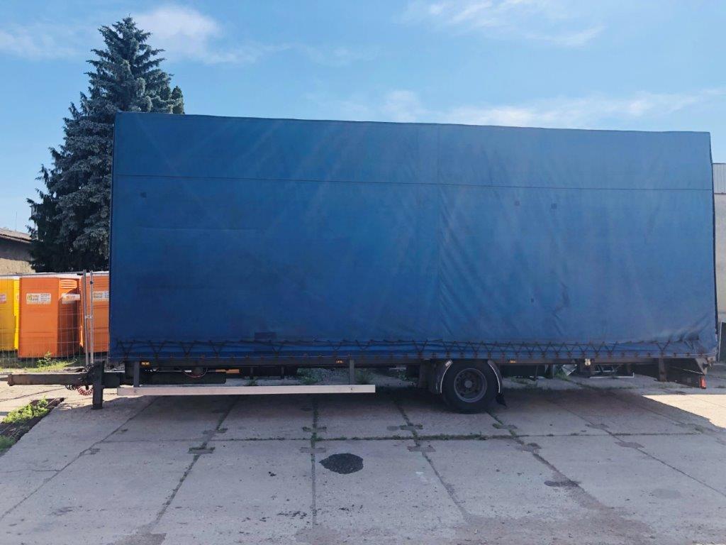 Nákladní přívěs Panav 1 náprava ABS 9 tun