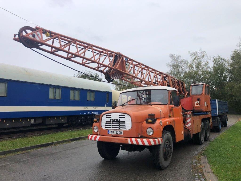 Tatra 148 6×6 autojeřáb, nová STK a revize